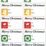 Christmas Gift Tags Medium